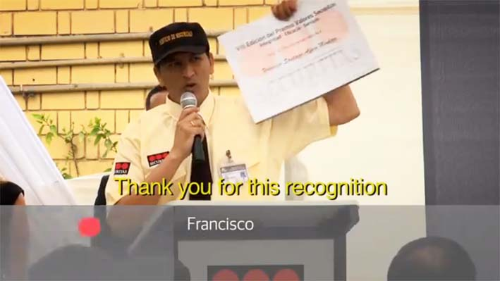 SECURITAS presenta Video Oficial del VIII Premio Valores SECURITAS
