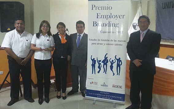 SECURITAS es elegida dentro de las 10 empresas Top Employers 2012 en Cajamarca