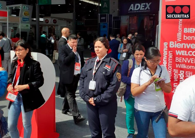 guardias de seguridad securitas expo